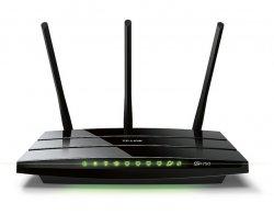 czarny router TP-Link