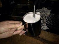spienianie mleka